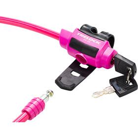 Trelock KS 211 Fixxgo Kids Kabelschloss Kinder pink